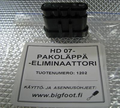 BF HD Pakoläppäeliminaattori