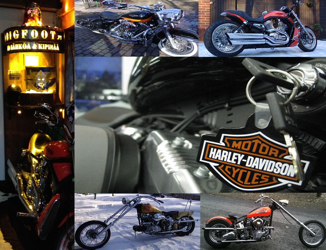 Bigfoot HD SWAPPI -verkkokaupasta ostaminen! Kauppa keskittyy Harley Davidson viritysosiin. Tuotteet ovat pääosin käytettyjä. Maksu käteisellä tavaraa noudettaessa tai tilisiirto erikseen sovittaessa. puh. 0400 677 223. bigfoot@bigfoot.fi