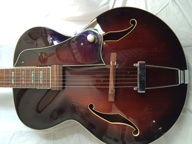 Ibanez AF84 DVS-12-01, puoliakustinen kitara.