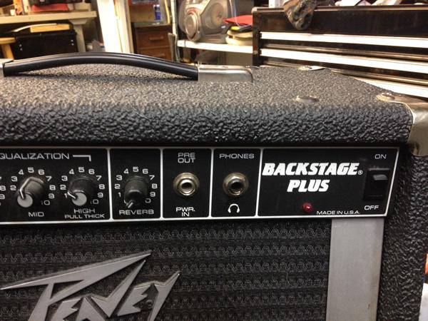 PEAVEY Backstage Plus kitravahvistin.